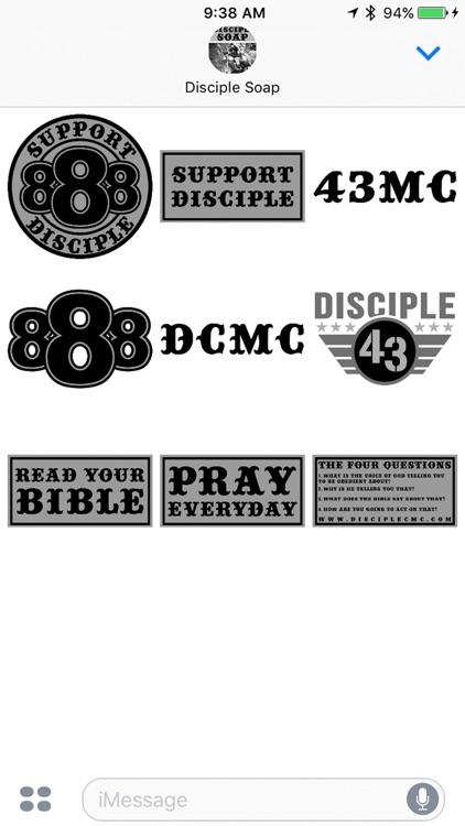 DCMC iMessage Stickers