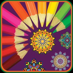 Mandala Coloring for Adults & Girls