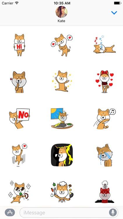 Shiba Inu Dog Sticker Pack