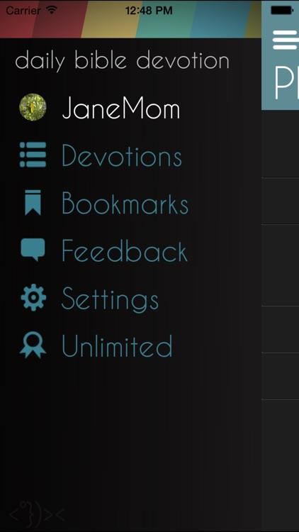 Daily Bible Devotion screenshot-4