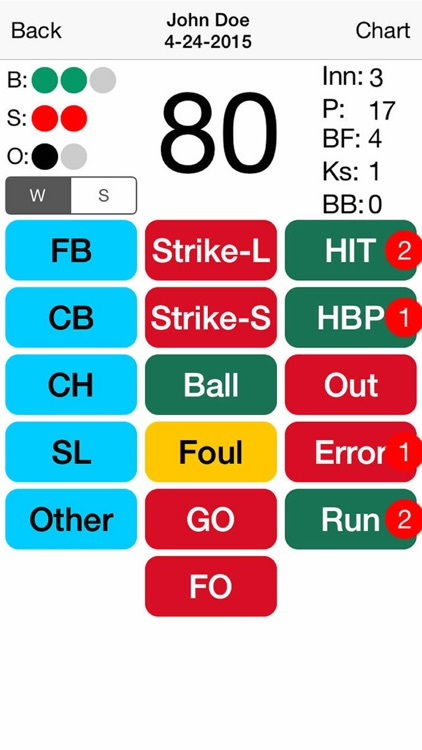 iProScout Baseball screenshot-4