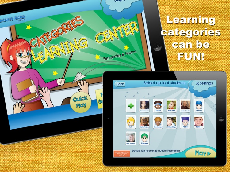 Categories Learning Center screenshot-0
