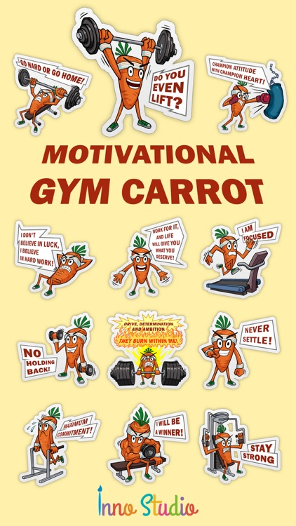 Motivational Gym Carrot screenshot-0