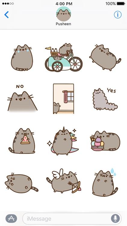 Pusheen Animated Stickers