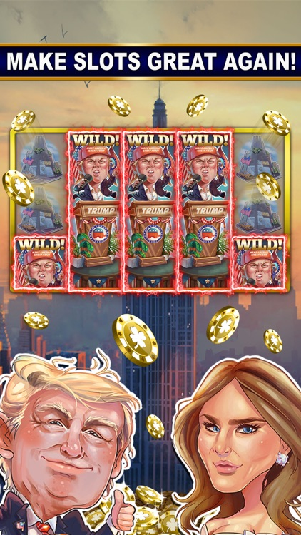 SLOTS: TRUMP vs. HILLARY CLINTON Free Slot Games