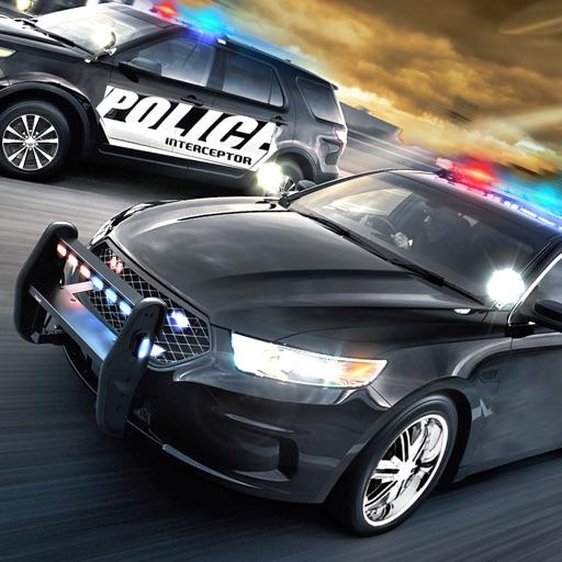 Полиция вождения преступления погоня 3D
