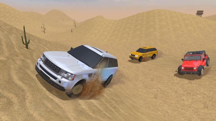 4X4 Offroad Jeep desert Safari - Driving 3D Sim screenshot-4