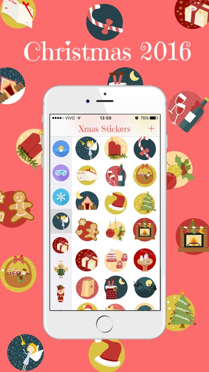 Xmas Stickers - Christmas Moji for iMessage screenshot-0