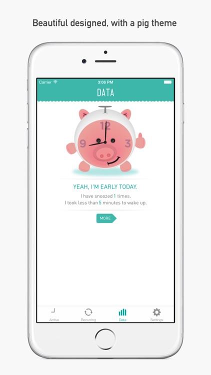 PiggyAlarm the Alarm Clock screenshot-3