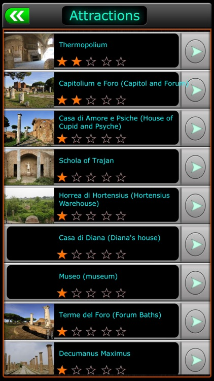 Ostia Antica Offline Map Travel Guide