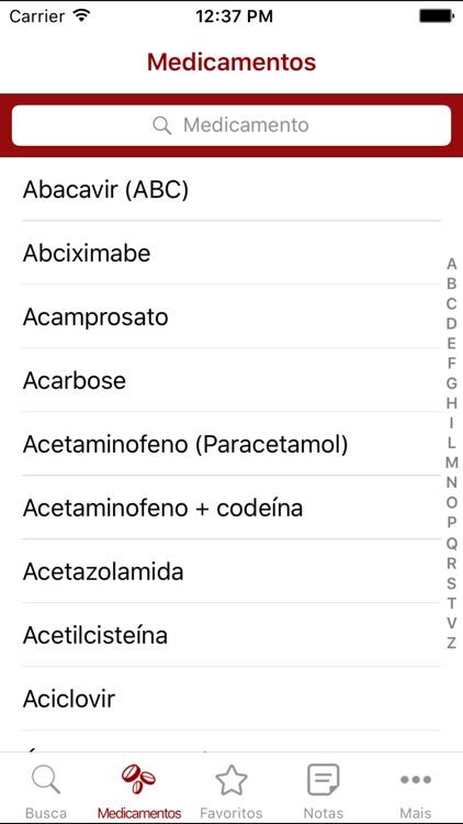 Medicamentos de A a Z screenshot-3