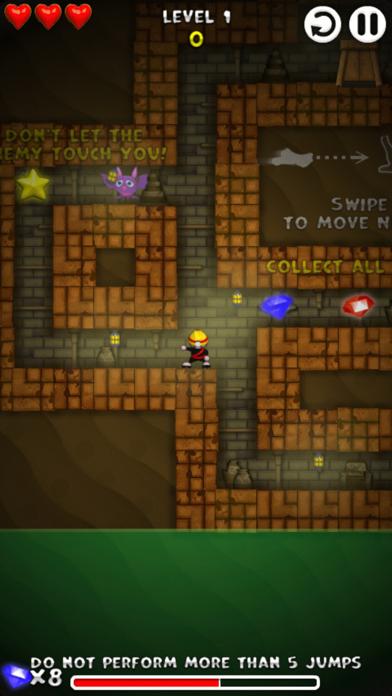 矿工忍者-好玩的宝石收集游戏 screenshot two