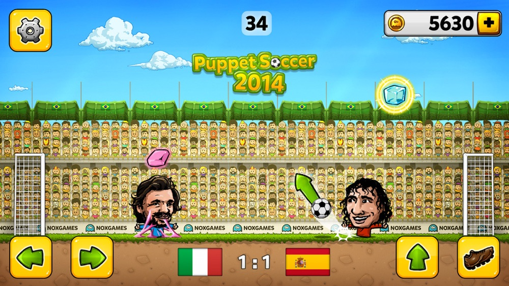 Puppet Soccer 2014 - Football championship in big head Marionette World hack tool