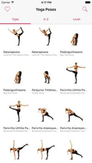Yoga Poses 250 Yoga Poses With Video Tutorials On The App Store