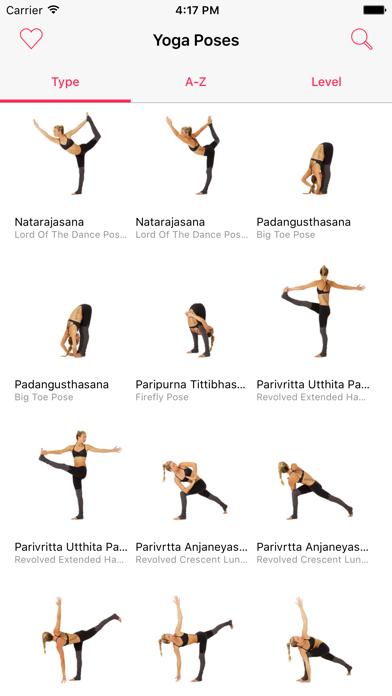 Yoga Poses — 250 yoga poses with video tutorials screenshot one