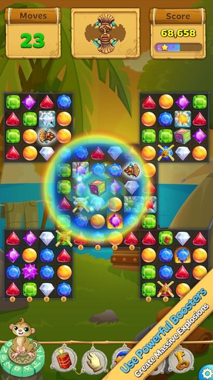 Crystal Island: Match 3 Puzzle