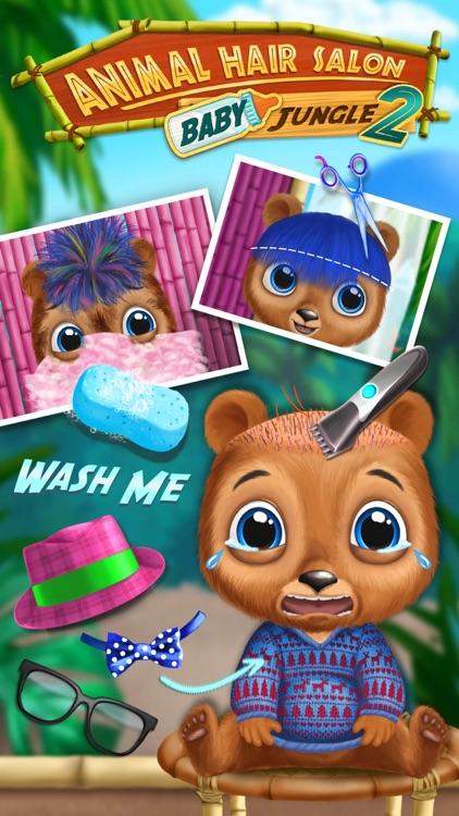 Baby Animal Hair Salon 2 screenshot-0