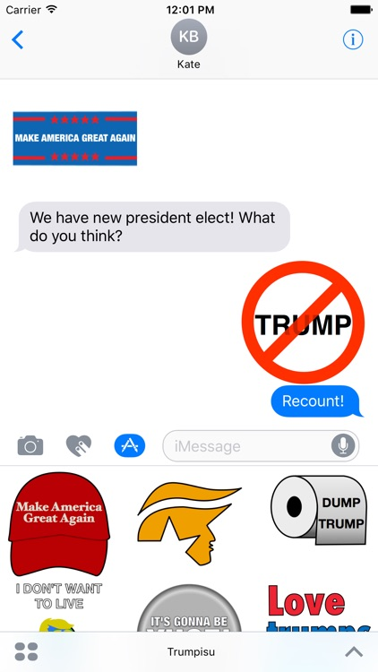 Trumpisu - Donald Trump stickers