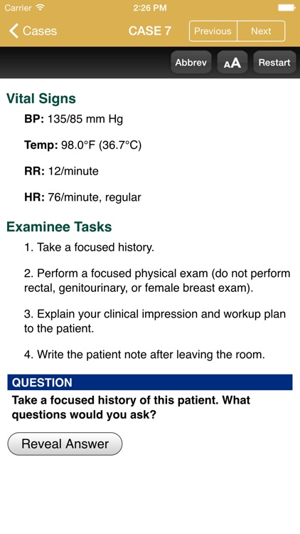 First Aid for USMLE Step 2 CS screenshot-4