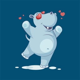Hippopotamus - Stickers for iMessage