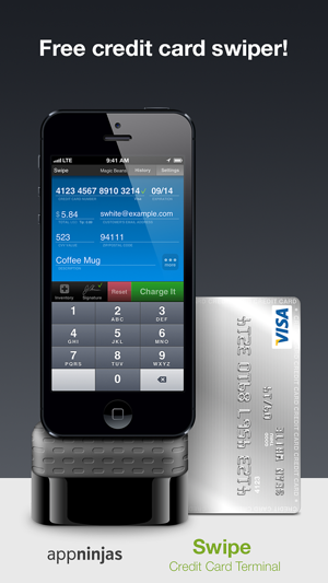 screenshots iphone ipad - Credit Card Swiper For Iphone