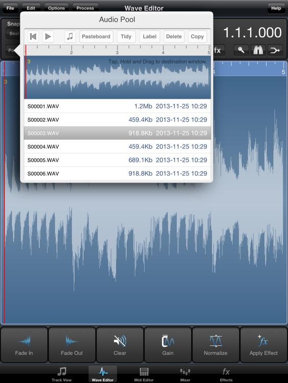 Meteor Multitrack Recorder screenshot-3