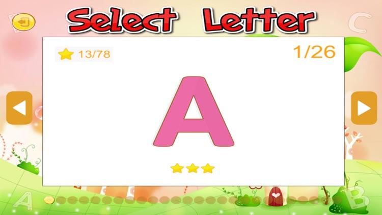 PreSchool ABC English Alphabet Tracing learning screenshot-3