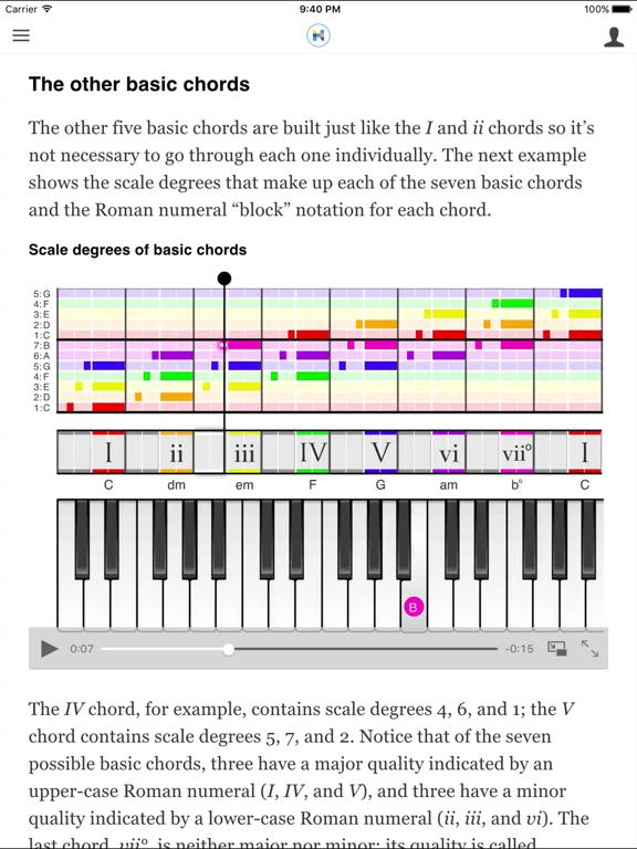 Hooktheory I: Music Theory screenshot