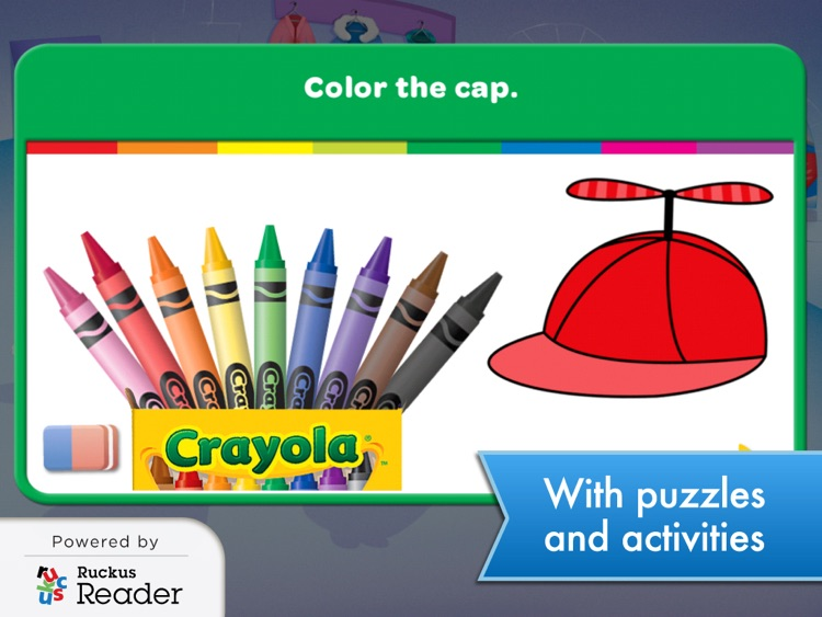 Crayola: Ruckus Reader screenshot-2