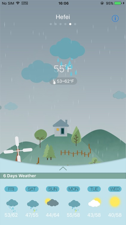 Weather HD for weather forecast, world city screenshot-4