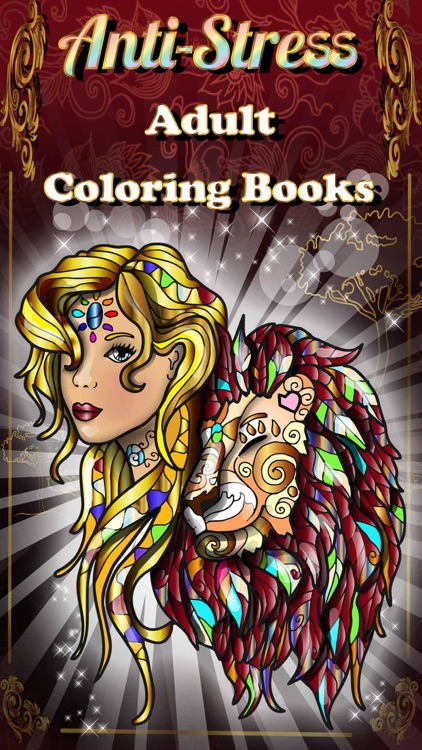 Adult Coloring Books Anti Stress Cats Pages Games!