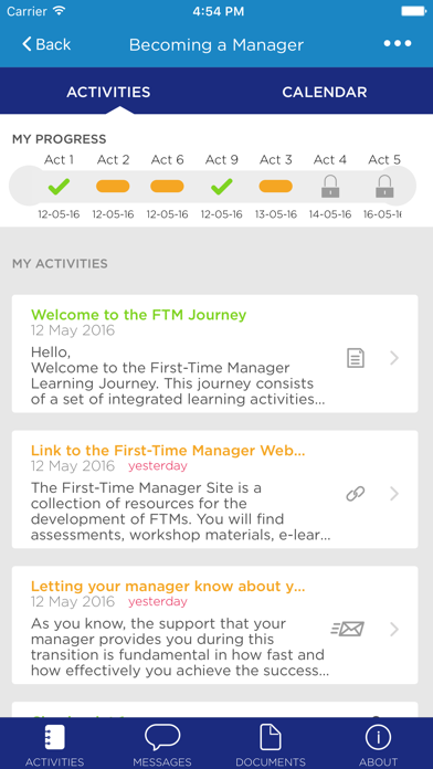 Ativa Learning Journey screenshot two