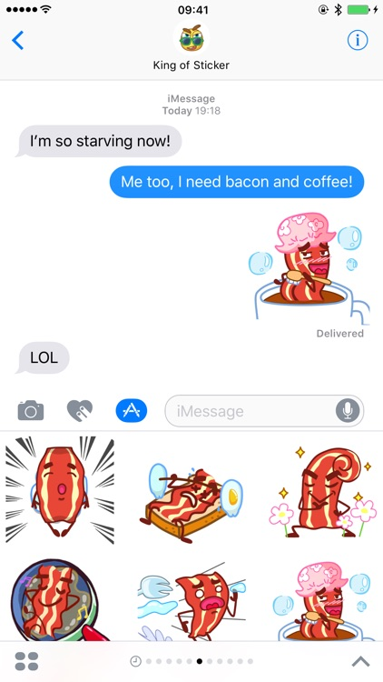 Bacon Animated Sticker Pack