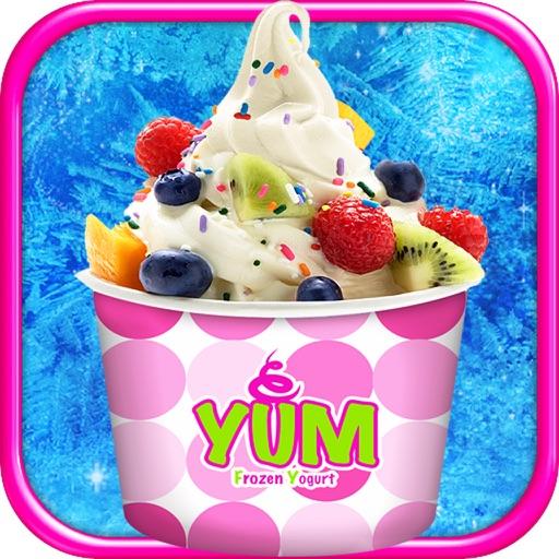 Frozen Yogurt Maker - Kids Dessert Food Maker Game