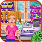 Cash Register Shopping List - Supermarket Cashier icon