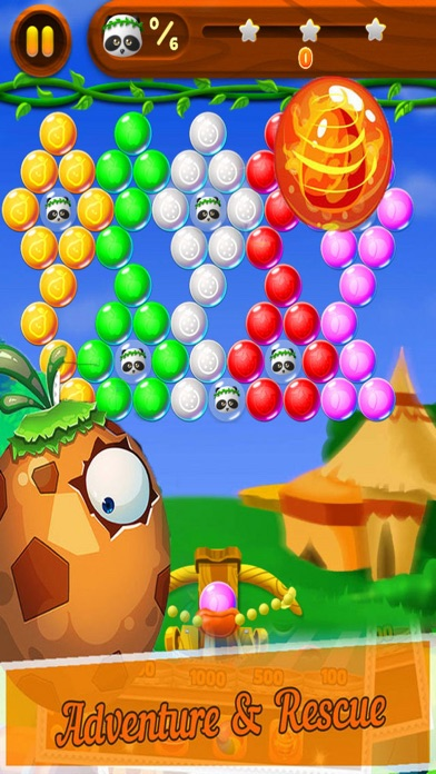 Candy Bubble Bear - Rescue Baby screenshot one