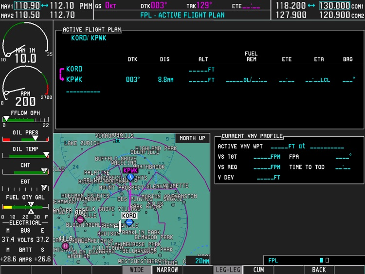 Simionic G1000 (MFD) screenshot-2