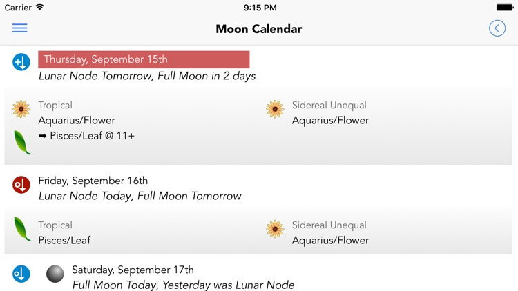 Garden Augur - Moon Calendar screenshot-2