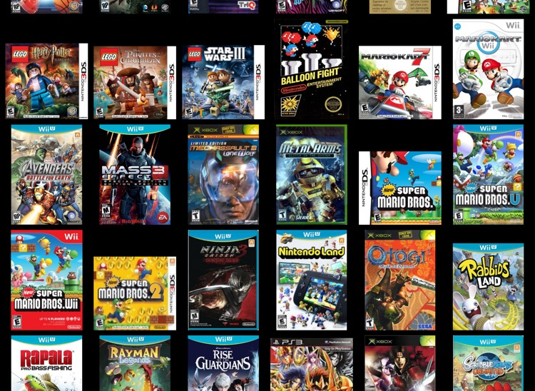 Video Games Manager for iPad