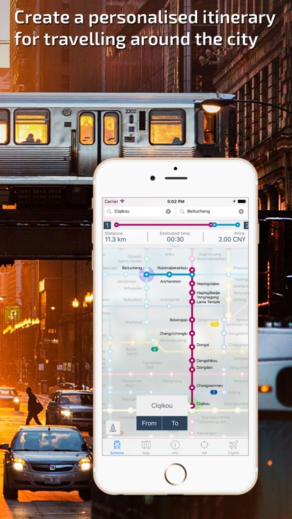 Beijing Subway Guide and Route Planner