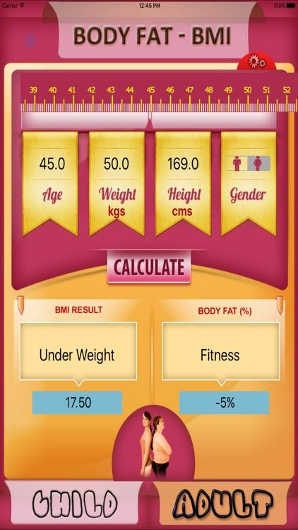 Body Fat Calculator screenshot-4