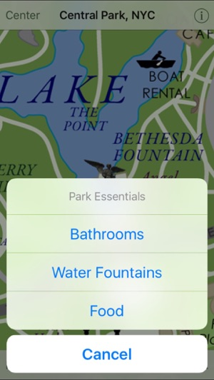 Central Park NYC on the App Store