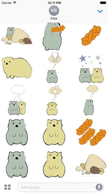 Dassies 4X Stickers