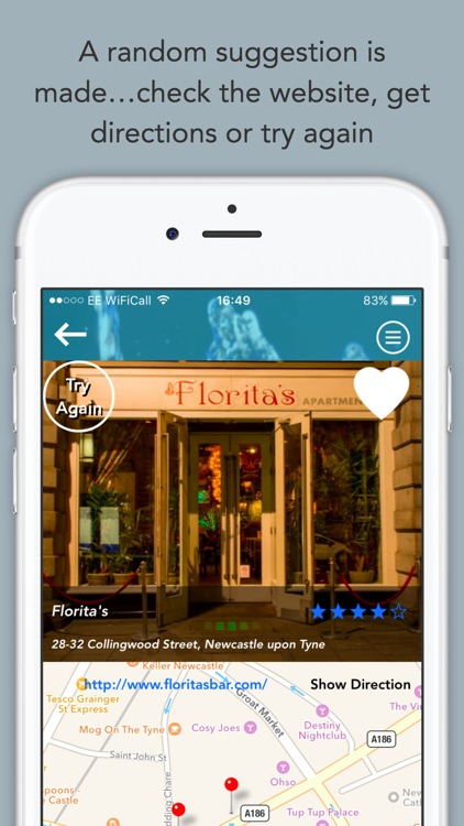 Randow Free: Nearest Pub, Club & Bar Finder With Map Support – Discover Local Nightlife And Find Pubs & Bars Nearby screenshot-3
