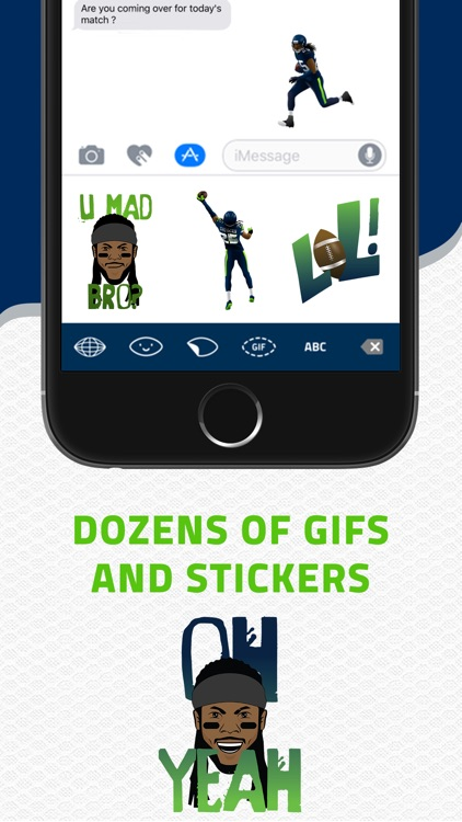 SHERMOJI - Official Richard Sherman Emoji Keyboard screenshot-2