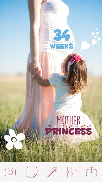 Pregnancy & Baby Milestone Photos screenshot two