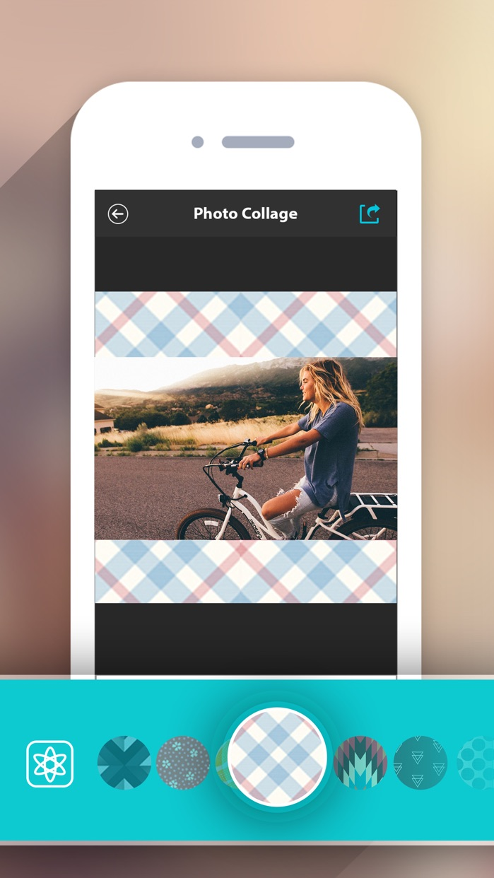 Photo Collage HD Pro – Pic Frame Maker Grid Editor Screenshot