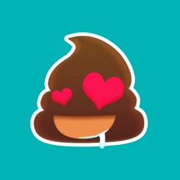 Poo Emoji Sticker - Animated Gif for iMessage Free