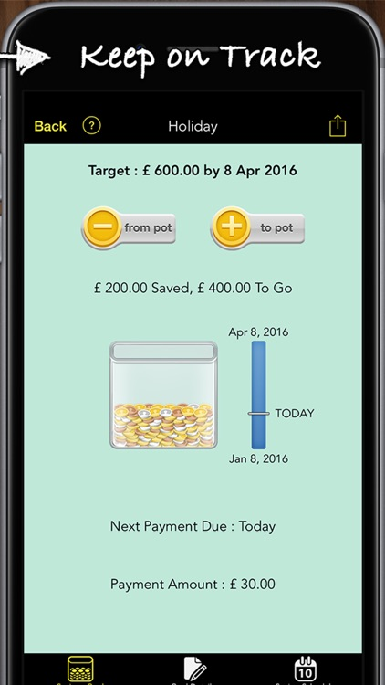 Savings Goals Pro screenshot-4