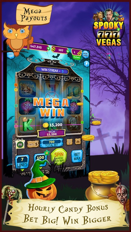 Spooky Vegas Slot Machines - Free Casino